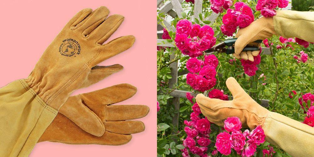 Womanswork Rose Gauntlet Garden Gloves