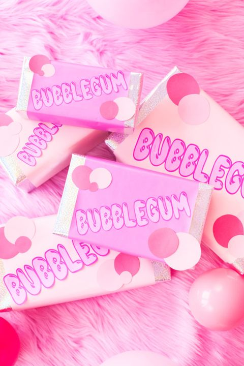 best gift wrapping ideas bubblegum