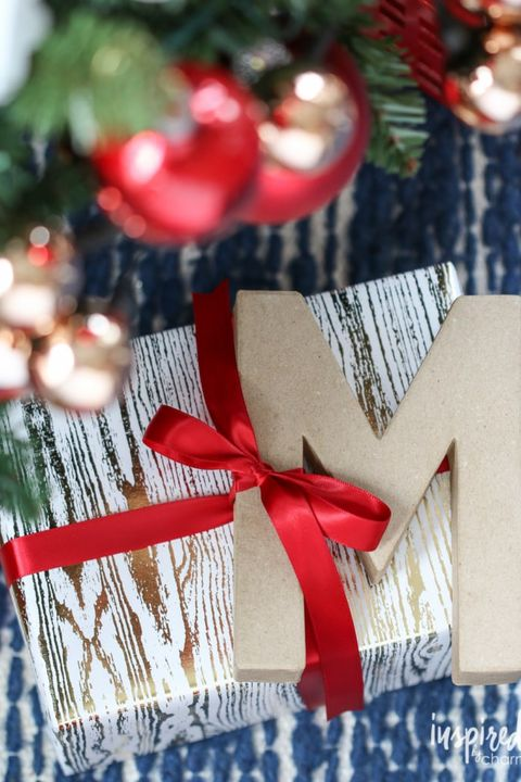 best gift wrapping ideas initial