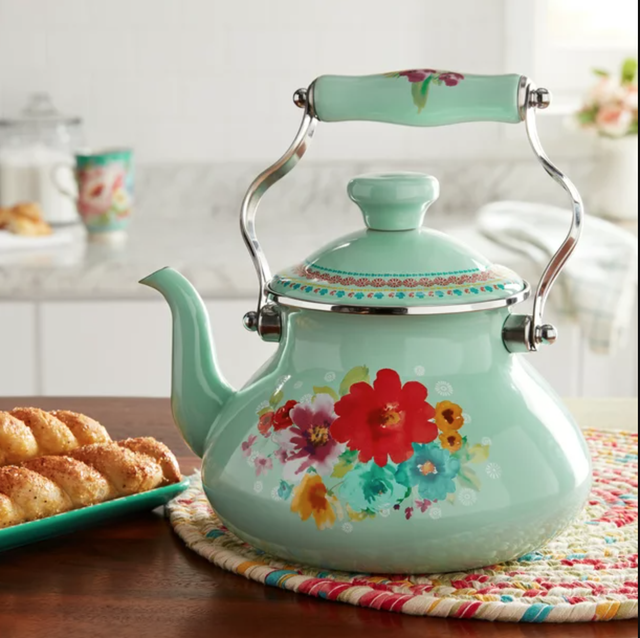 best gifts for tea lovers floral tea kettle