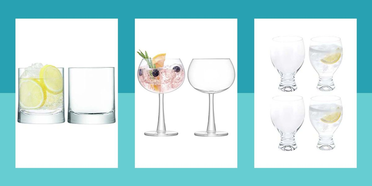 FYI: These Gin Glasses Are Exactly What You Need For Your Home Bar