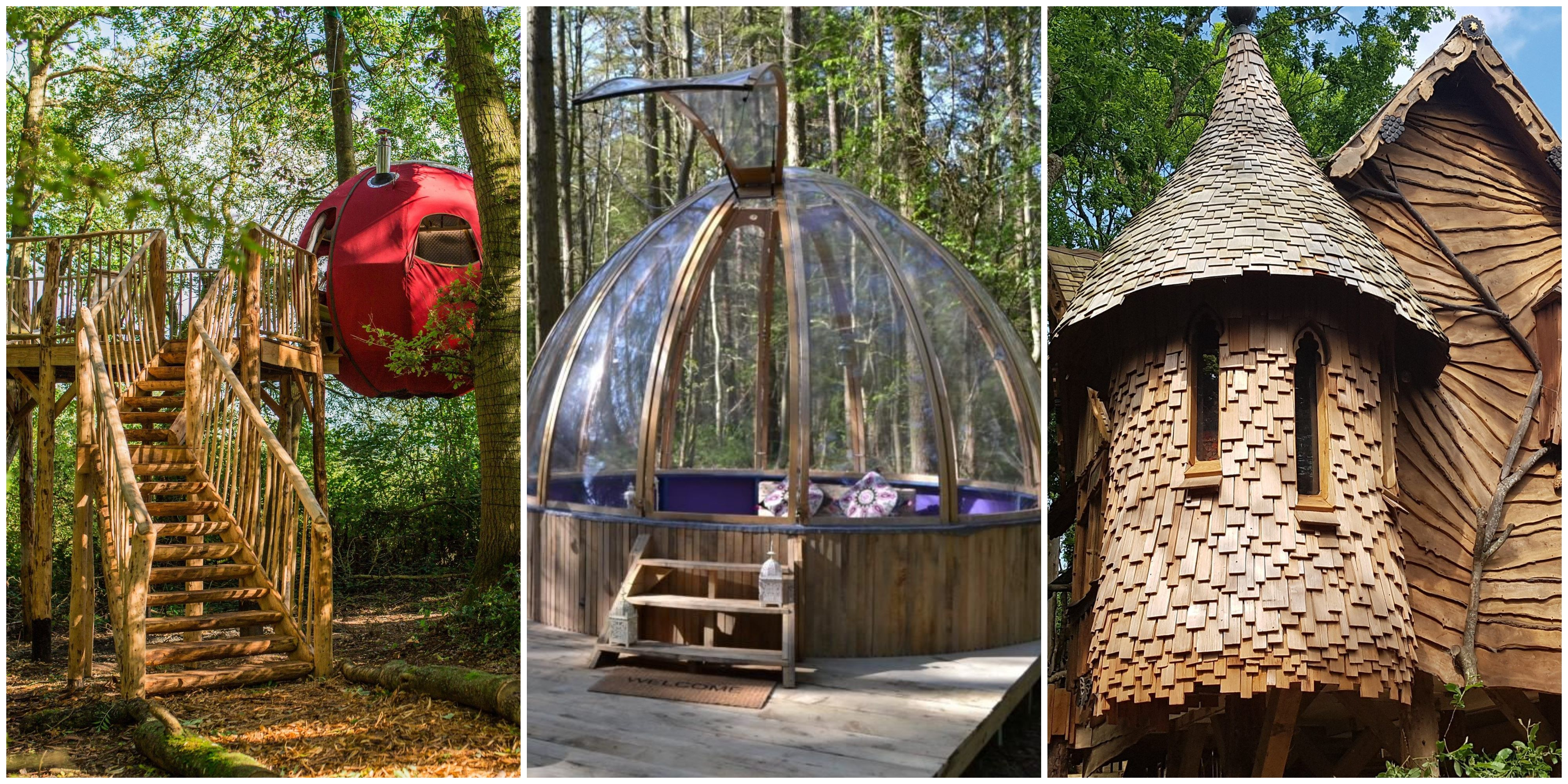 Setting up a glamping business