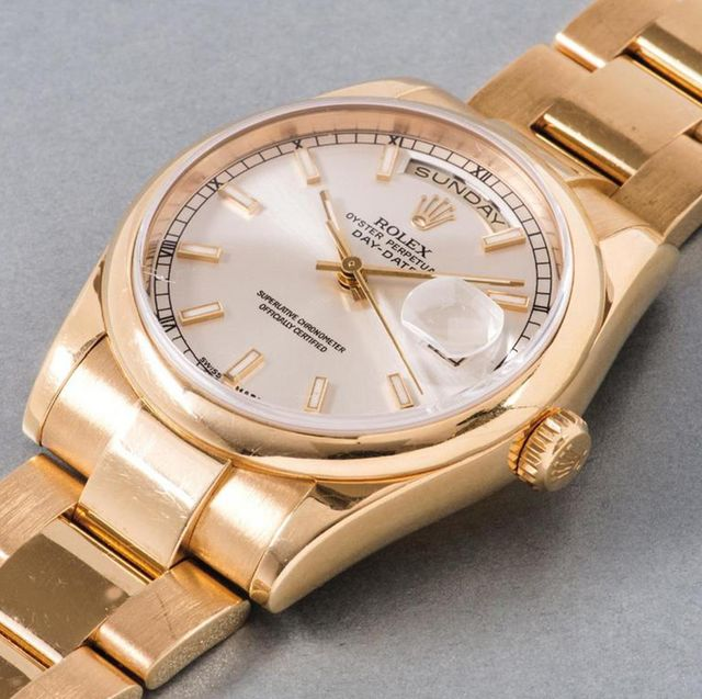 rolex oyster day date watch