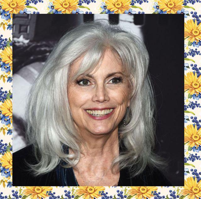 best gray hair color ideas emmylou harris kelly osbourne