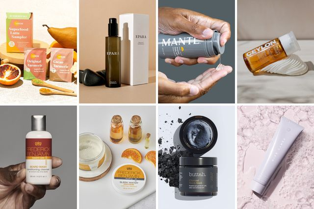 men beauty products from superfood, epara, mantl, ceylon, frederick benjamin, buttah, fenty