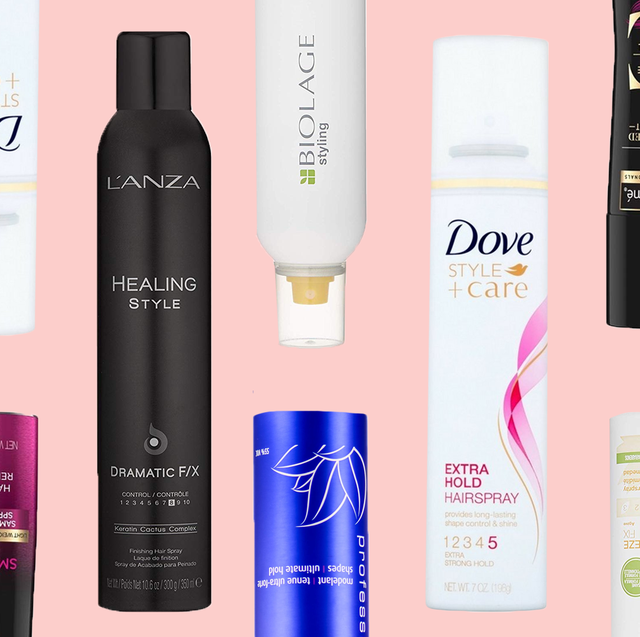 8 Best Hairsprays Top Strong Hold And Flexible Hair Spray