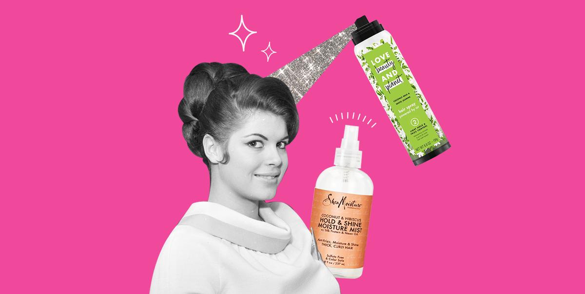 12 Best Hairsprays That Don't Feel Stiff, Crunchy, or Flakey 2020