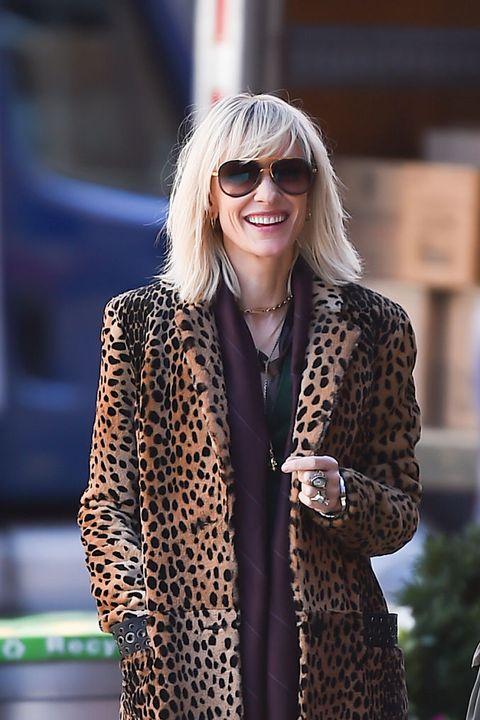 medium length hairstyles for older women cate blanchett rock and roll fringe