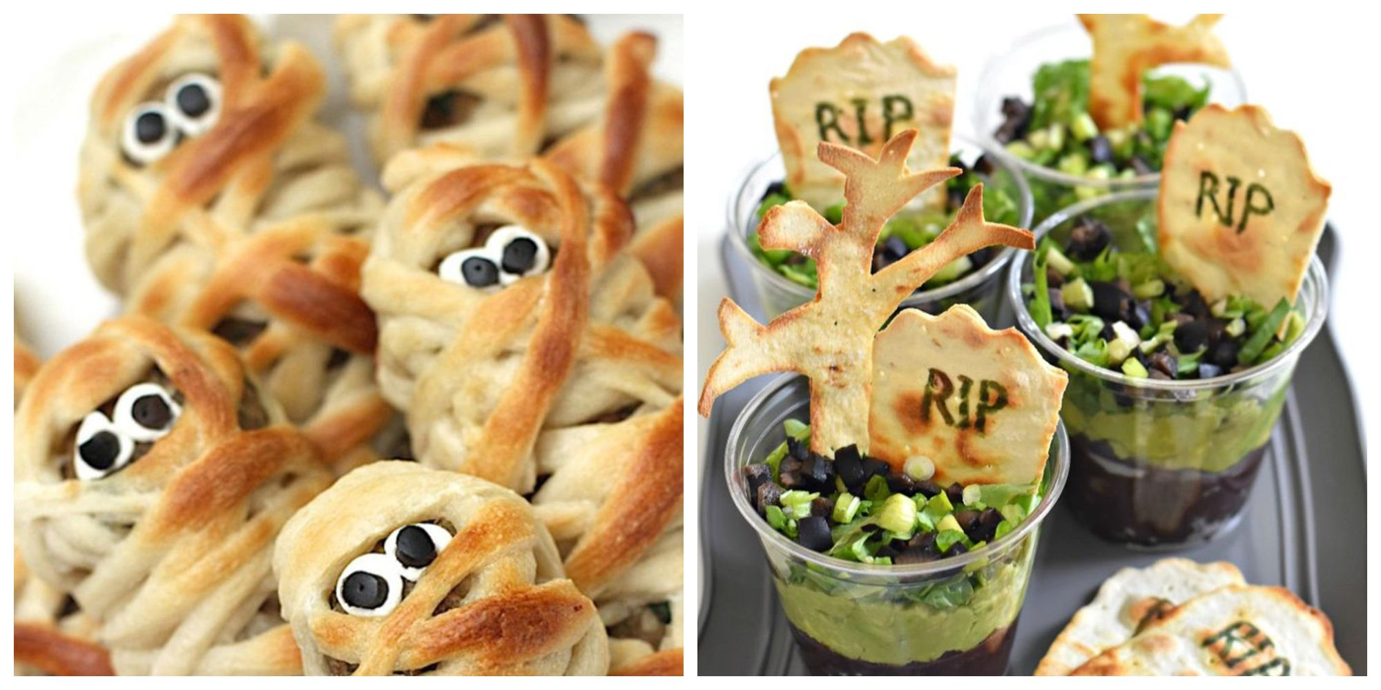 31 Easy Halloween Party Appetizers Best Recipes For Halloween Hors