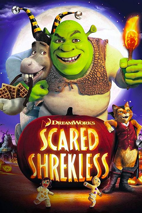 best halloween movies for kids scared shrekless