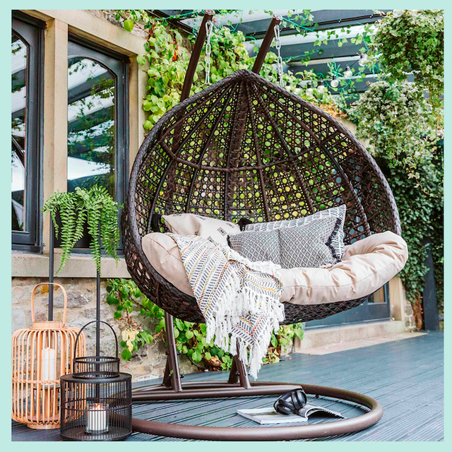 26 Of The Best Hanging Egg Chairs To, Outdoor Swing Chair With Stand Uk