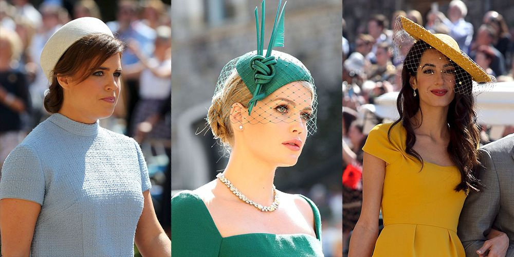 Best Hats and Fascinators From the Royal Wedding 45bee6f843f