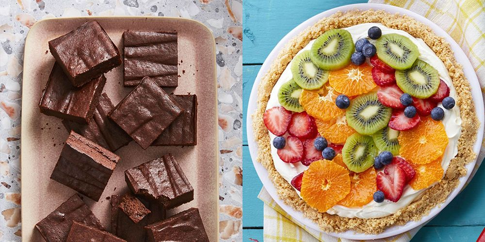 41 Best Healthy Dessert Recipes Easy Ideas For Low Calorie Desserts