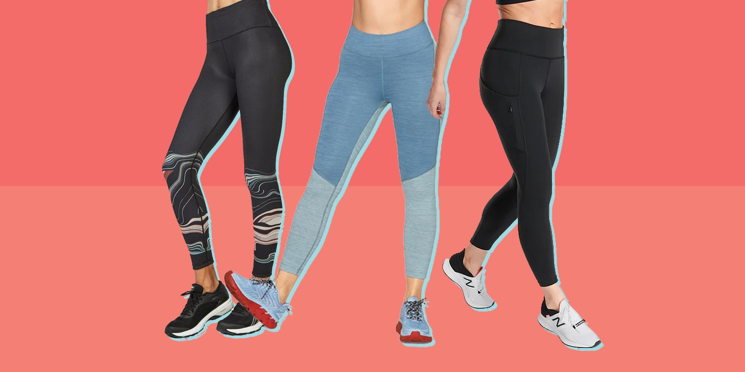 Women/'s Fleece Lined High Waist Love Printed Sporty Leggings