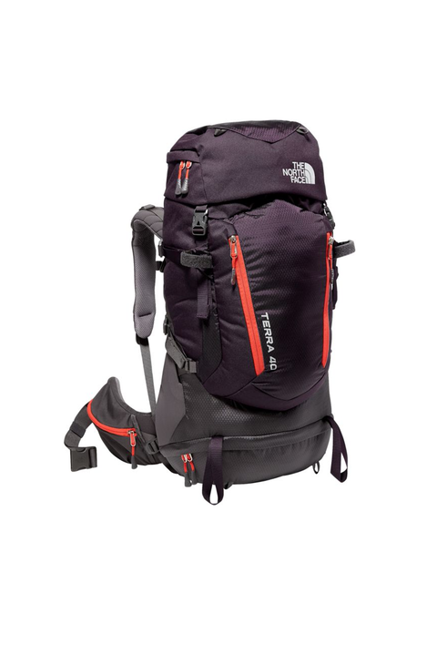 best hiking backpack north face terra