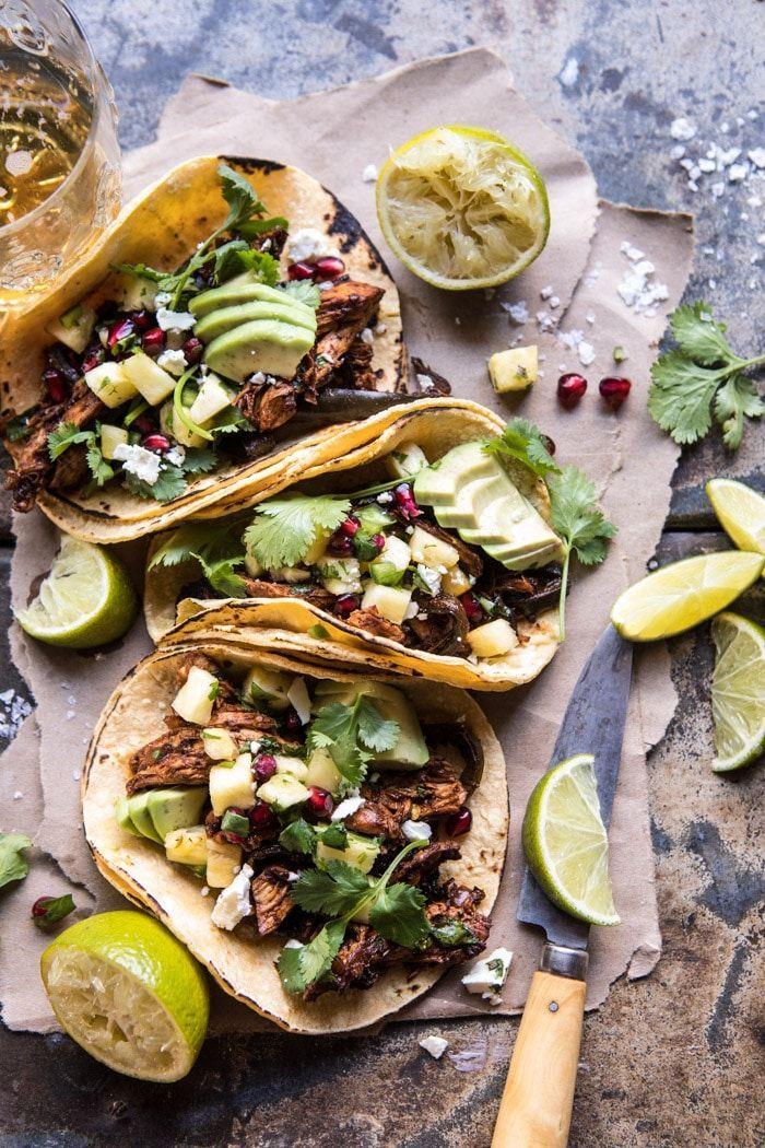 best instant pot recipes pineapple chicken tacos