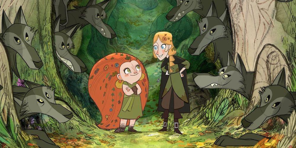 Люди называют ирландский анимационный фильм «Волчьи волки» потрясающим