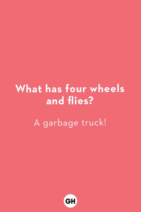 jokes for kids garbage truck joke