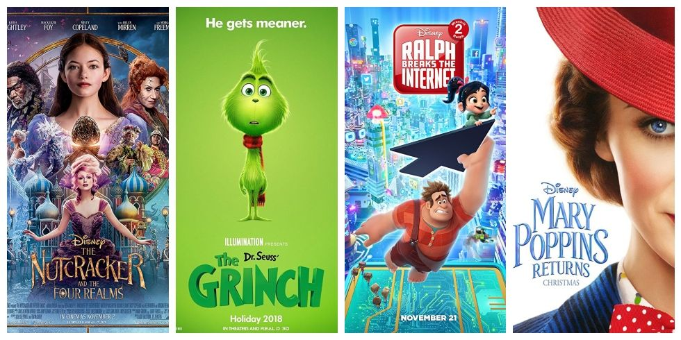 movies coming grinch christmas trailer entertainment