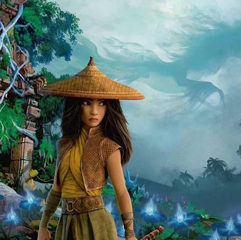 raya and the last dragon is a best kids' movie of 2021