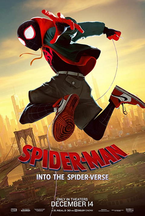 Spider-Man Into the Spiderverse poster