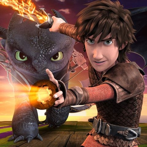 Netflix Kids Shows - Dreamworks Dragons Race to the Edge