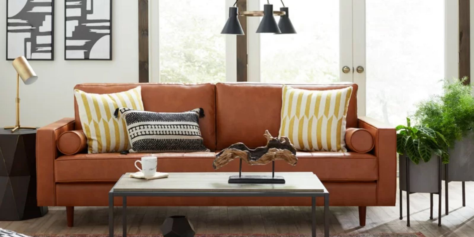 10 Best Leather Sofas to Buy in 2019 - Luxe Brown & Black Leather Sofas