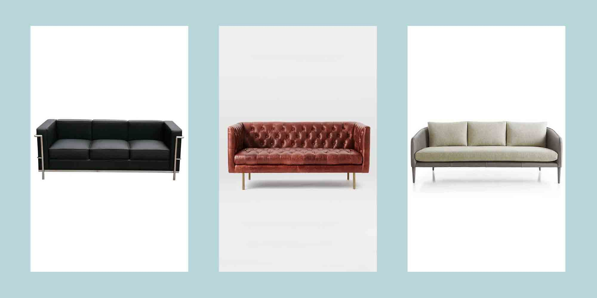 15 Best Leather Sofas To Buy In 2020 The Best Leather Couches