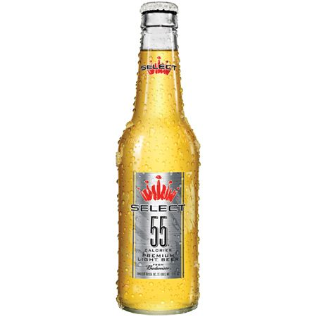 BEST LIGHT BEER FOR CALORIE AND CARB COUNTERS: Bud Select 55
