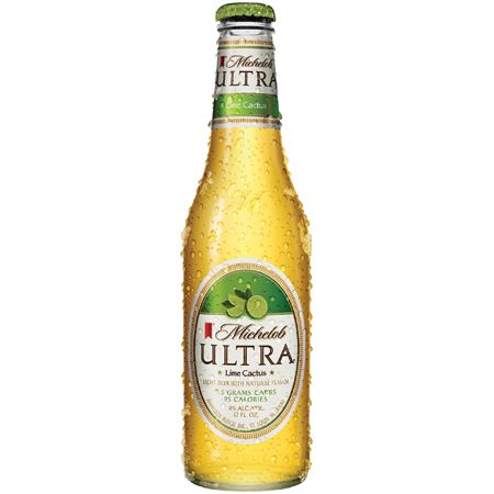 BEST LIGHT BEER WITH BOTTLED LIME: Michelob Ultra Lime Cactus