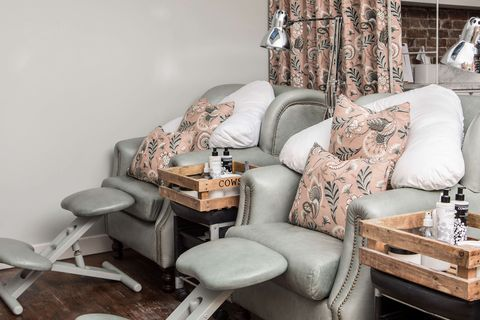 Best pedicures in London - Cowshed Carnaby Street