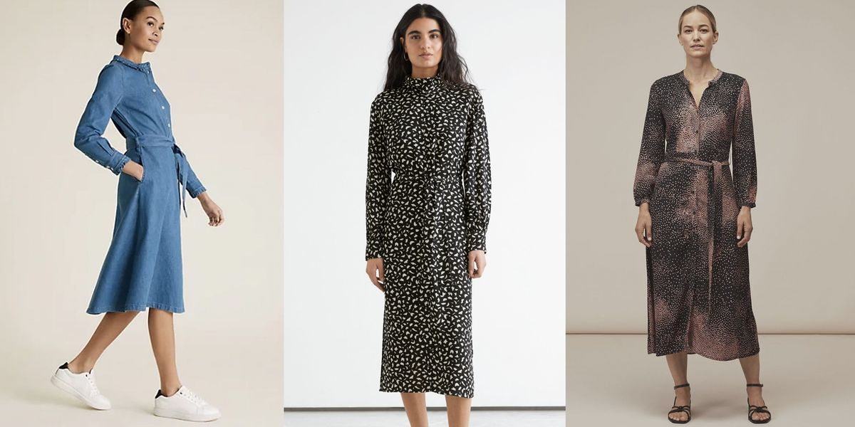 The best long sleeve dresses on the high street right now