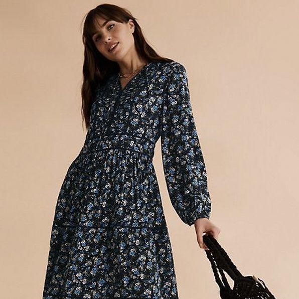 long sleeve maxi dress uk