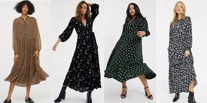 Best long sleeve maxi dress UK