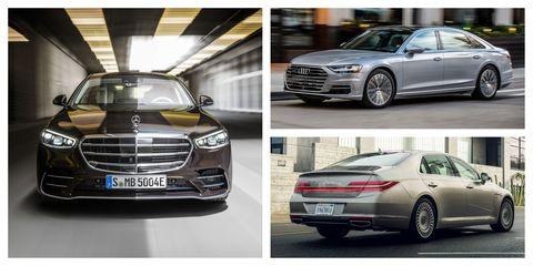 every 2021 fullsize luxury sedan ranked from worst to best