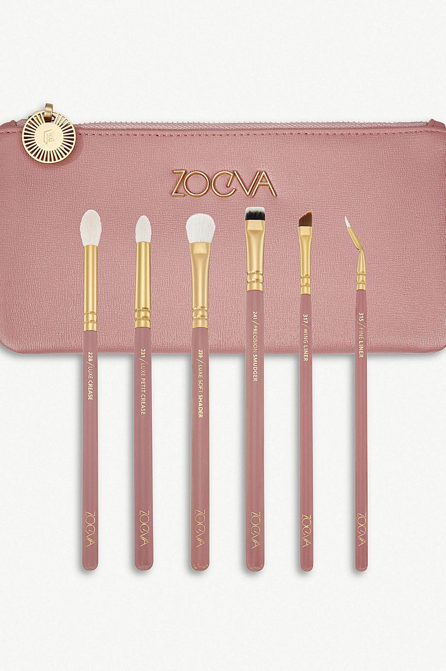 Best makeup brushes - Zoeva Eye Makeup Brush Kit