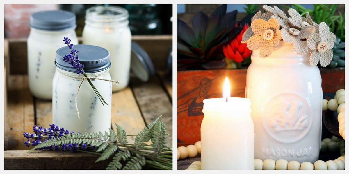 Creative Mason Jar Candles To Make Or Buy Best Diy Mason Jar Candle Ideas