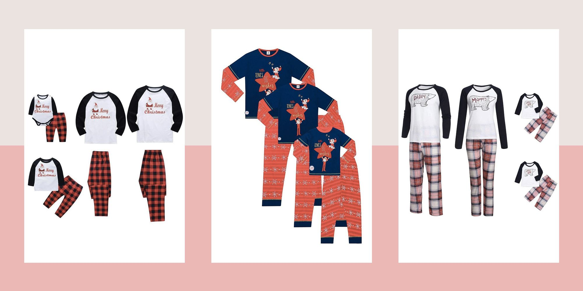 Family Christmas Pajamas 2019 Uk.Best Matching Family Christmas Pyjamas Family Christmas