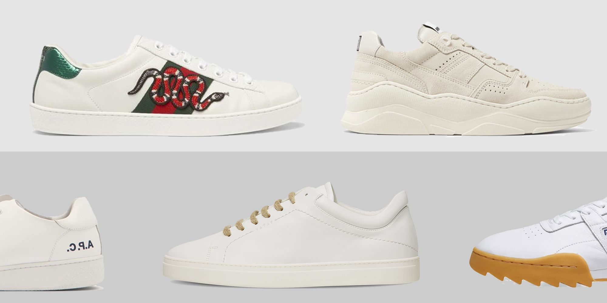 The Best White Trainers Of 2019