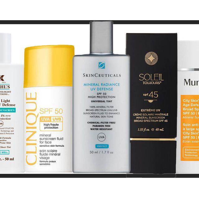 the best mineral suncreams