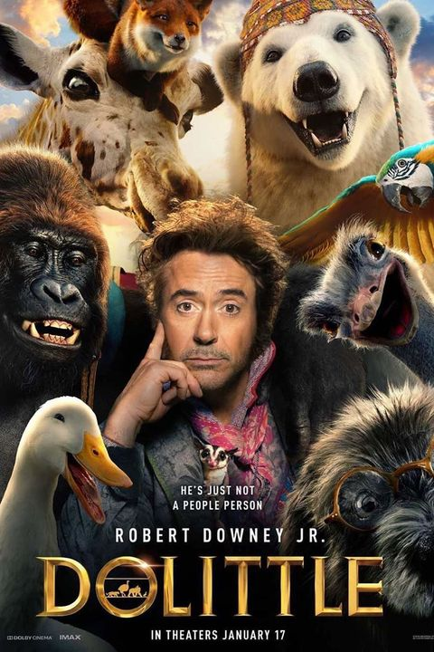 best movies for kids 2020 dolittle robert downey jr