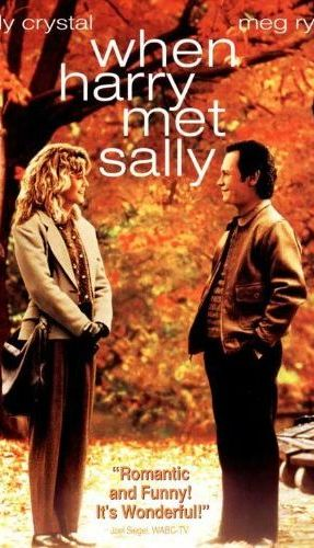 when harry met sally poster   things to do on new year's day watch a new year's movie