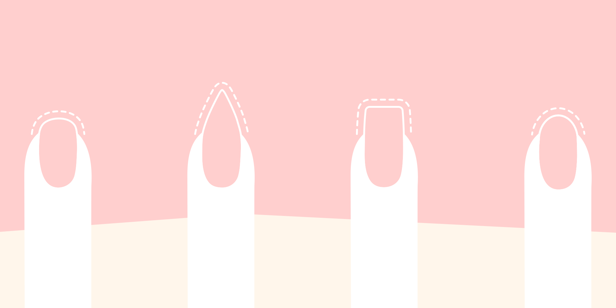 9 Different Nail Shapes and Names for Your Manicure - Types