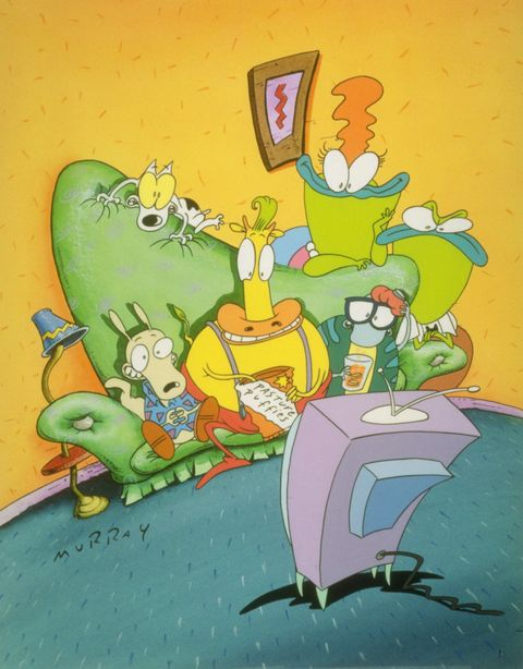Best Nickelodeon Cartoons Rocko's Modern Life