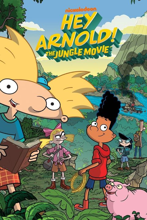 Best Nickelodeon Movies Hey Arnold! The Jungle Movie