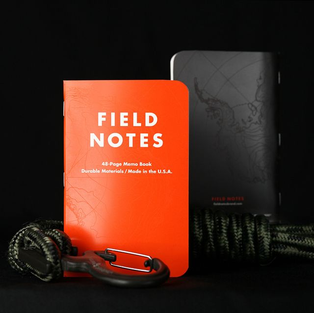 field notes expedition front and back