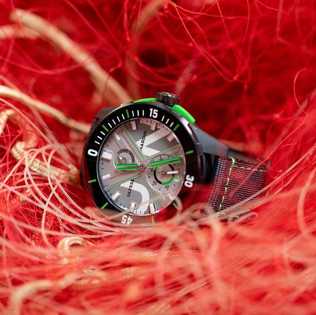 ulysse nardin ocean plastic watch