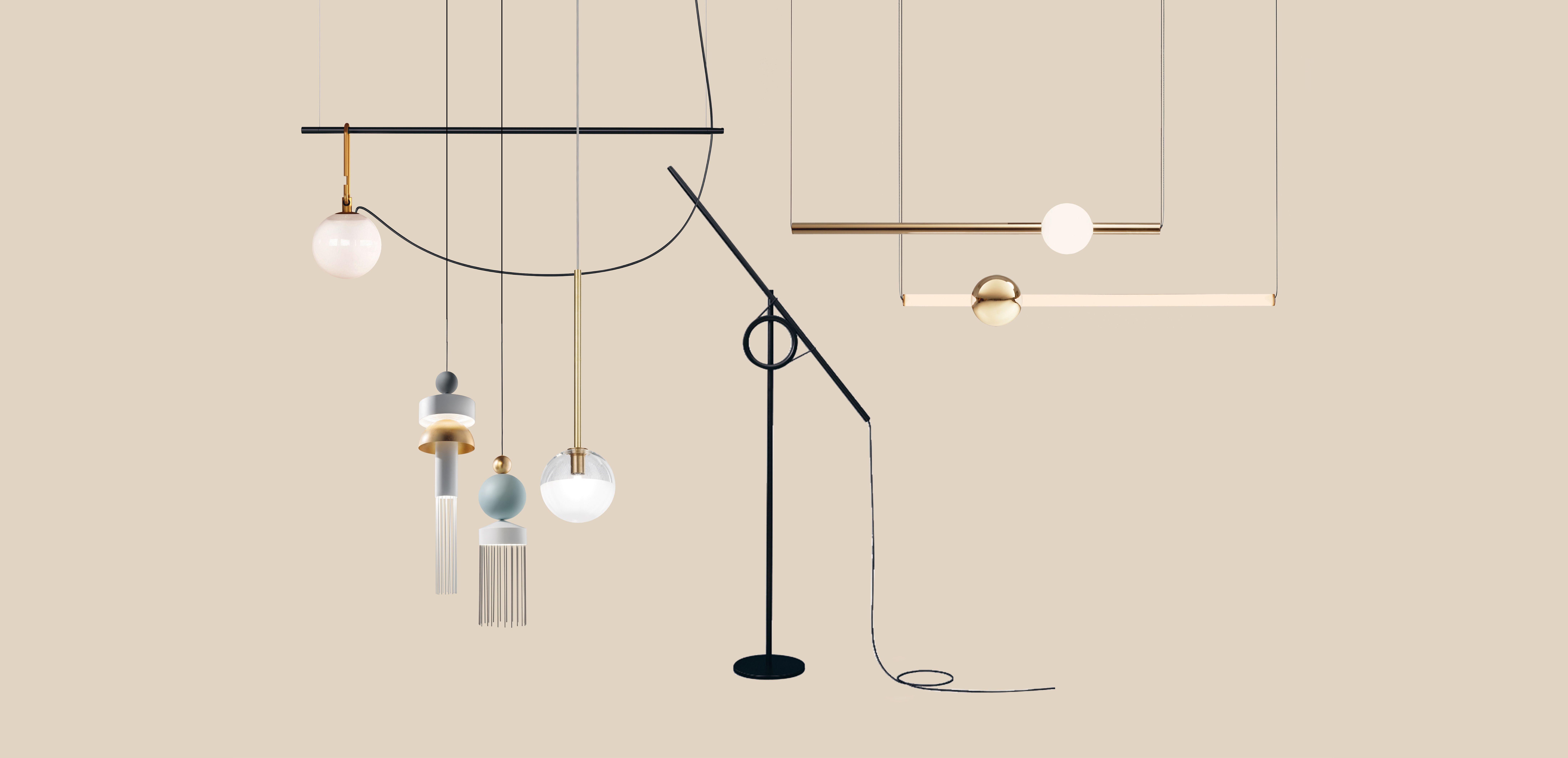 Lampadario Con Punto Luce Decentrato lampadari moderni: 10 idee arredo di tendenza