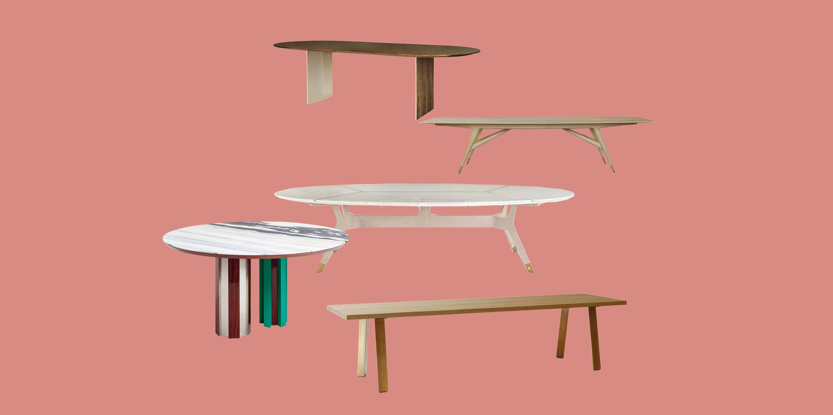 Tavolo Da Pranzo 3 Metri tavoli moderni da pranzo e da lavoro: 17 modelli dal design