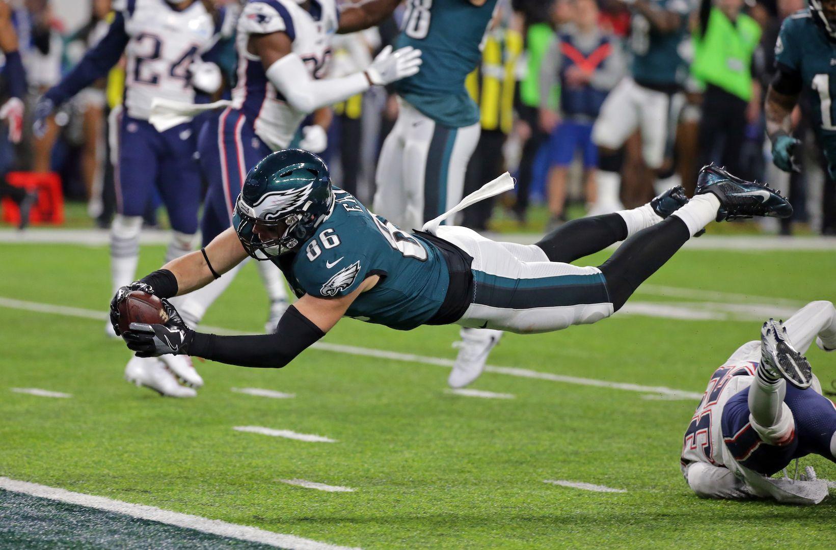 Philadelphia Eagles  Zach Ertz Shares Super Bowl Workout Tips ee89d3e59